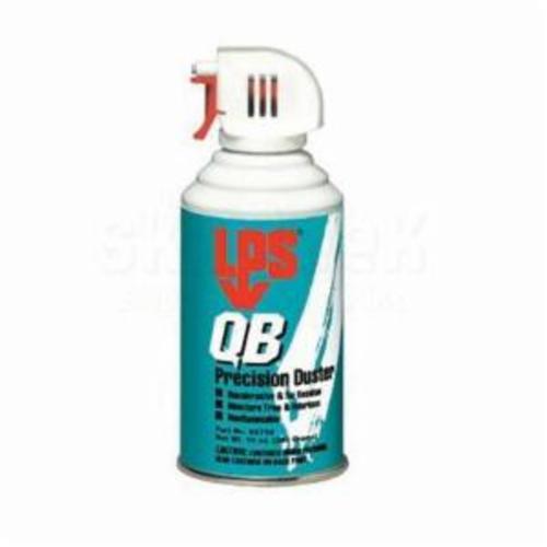 LPS® 05710 QB Duster Precision Air Duster, 12 oz, Aerosol Packing, Gas, Clear