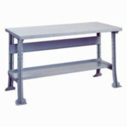 LYON® 2502 Workbench With Shelf and Stringer, 32-1/4 in H x 60 in W x 28 in D
