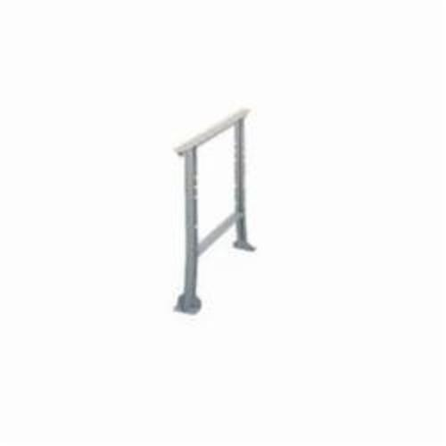 LYON® 2750 Flared Channel Leg, 32.25 in H x 28 in D, For Use With Workbenches, Steel
