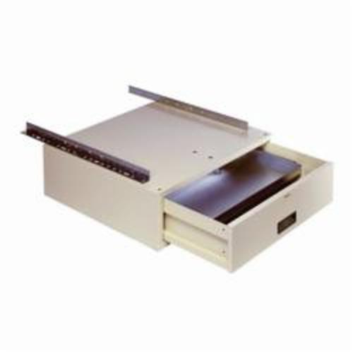 LYON® 2788 Low Profile Drawer, 5 in H x 14-1/8 in W x 19-3/4 in D, For Use With Workbenches, Steel, Painted