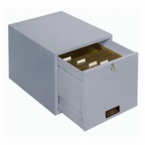 LYON® 2790 Double Height Drawer, 11-3/4 in H x 14-1/8 in W x 19-3/4 in D, For Use With Workbenches, Steel, Painted