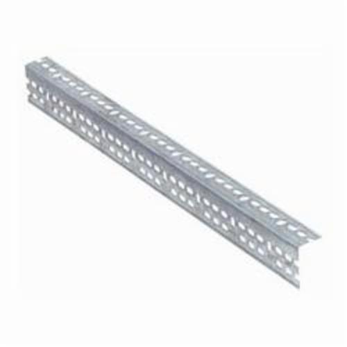LYON® 6510 Medium Duty Slotted Angle, For Use With Storage Shelving Systems, Steel, Silver, Galvanized