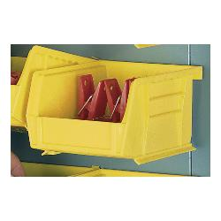 LYON® 78222 1100 Small Removable Bin, 5-3/8 in L x 4-1/8 in W x 3 in H, Yellow