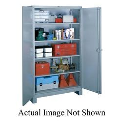 LYON® DD1145 1100 All-Welded Storage Cabinet, 1450 lb, 82 in H x 60 in W x 24 in D