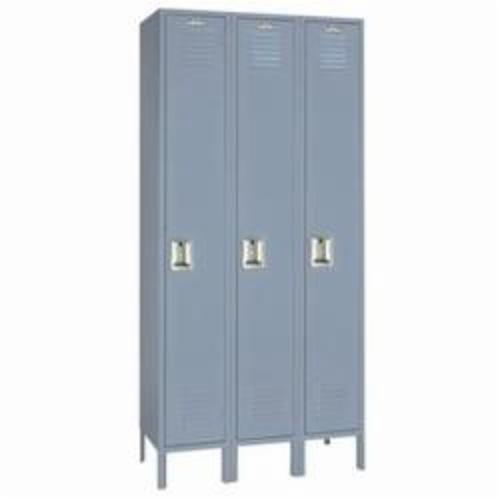 LYON® DD50423SU Wardrobe Locker, 78 in H x 3 ft W x 18 in D, 1 Tiers