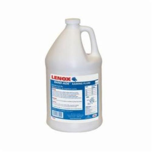 LENOX® BANDSAW Band-Ade® 68004 Biodegradable Cutting and Grinding Fluid, 1 gal Bottle, Petroleum Odor/Scent, Liquid Form, Yellow