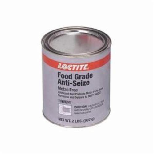 Loctite® 1169241 lb 8014™ 1-Part Food Grade Anti-Seize Lubricant, 2 lb Can, Paste, White, 1.18