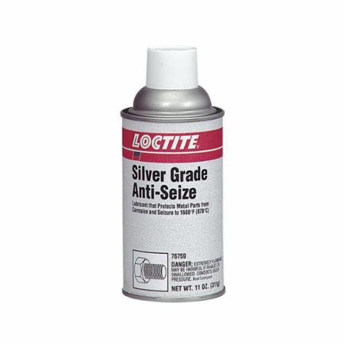 Loctite® 135541 lb 8150 High Pressure High Temperature Anti-Seize Lubricant, 12 oz Aerosol Can, Liquid Form, Silver, 0.77