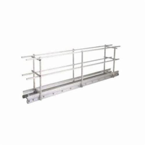 Louisville® PA1062A End Rail Kit, 12 in W, Complete 2 End, For Use With Louisville® PT Series Planks and Stages