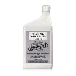 Lubriplate® L0135-013 Industrial Strength Penetrating Chain and Cable Lubricant, 2 lb Bottle, Liquid Form, Amber, 0.93
