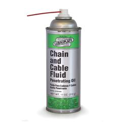 Lubriplate® L0135-063 Industrial Strength Penetrating Chain and Cable Lubricant, 11 oz Aerosol, Liquid Form, Amber, 0.93