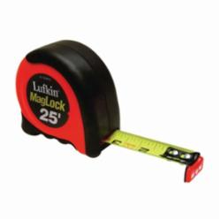 CRESCENT Lufkin® AL725MAG 700 Tape Measure, 25 ft L x 1 in W Blade, Steel Blade, Imperial Measuring System, 1/16ths Graduation