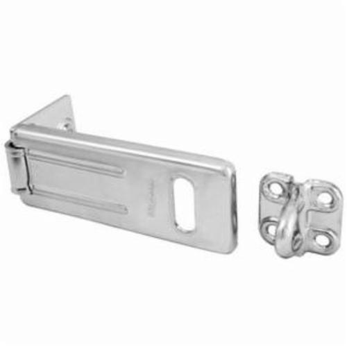 Master Lock® 703D Hasp Lock, 3-1/2 in L, Hardened Steel