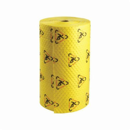 SPC® MAXX® BrightSorb® CH30DP Heavy Weight High Visibility Perforated Absorbent Roll, 150 ft L x 30 in W x 2-Ply THK, 40 gal Absorption Capacity, Spunbond-Meltblown Polypropylene
