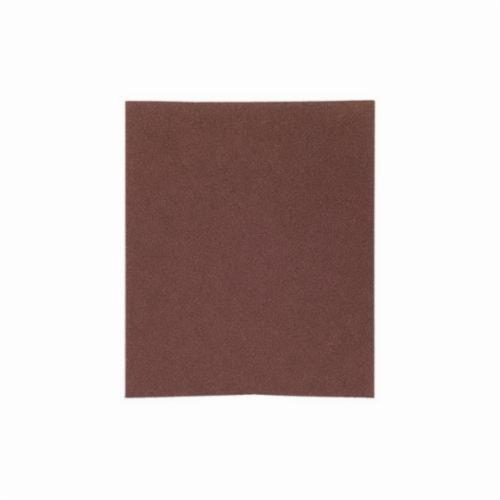 Norton® Metalite® 66261126330 K225 Coated Sanding Sheet, 11 in L x 9 in W, P600 Grit, Ultra Fine Grade, Aluminum Oxide Abrasive, Cotton Backing