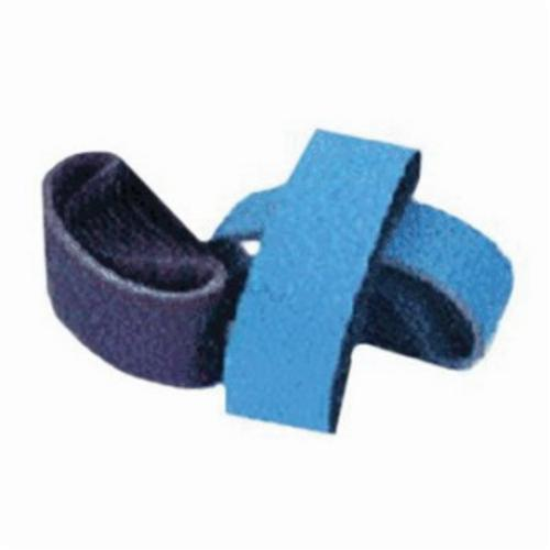 Norton® Metalite® 78072722170 R228 Narrow Coated Abrasive Belt, 4 in W x 54 in L, 60 Grit, Coarse Grade, Aluminum Oxide Abrasive, Cotton Backing