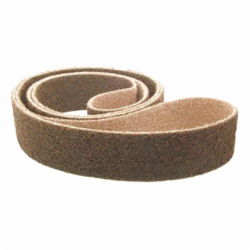 Norton® Metalite® 78072727937 R255 Portable Coated Abrasive Belt, 3 in W x 24 in L, 40 Grit, Extra Coarse Grade, Aluminum Oxide Abrasive, Cotton Backing