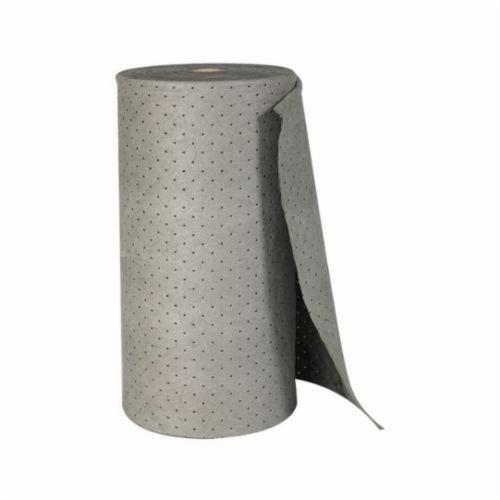 SPC® MRO Plus® MRO315P Mediumweight Perforated Absorbent Roll, 150 ft L x 15 in W x 3 ply THK, 20 gal Absorption, Meltblown-Meltblown-Meltblown Polypropylene
