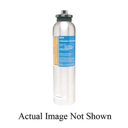 MSA 467897 Reactive Calibration Testing Gas, Composition: Hydrogen Sulfide, Nitrogen, 58 L Cylinder Capacity, For Use With Sirius® Multi-Gas Detectors
