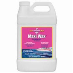 MaryKate® MK20012 Maxi Wax™ Combustible Cleaner Wax, 1 gal Bottle, Aldehyde Odor/Scent, White, Opaque Creamy Liquid Form
