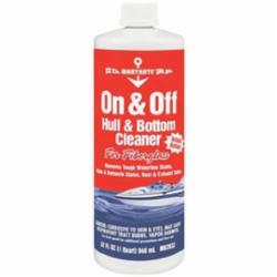 MaryKate® MK2032 Non-Flammable ON/OFF Water Based Hull/Bottom Cleaner, 1 qt Bottle, Strong Acid Odor/Scent, White, Emulsion Form