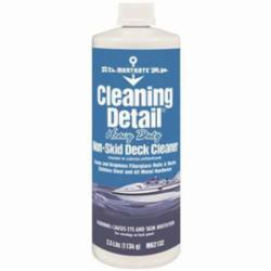 MaryKate® MK2132 Cleaning Detail® Non-Skid Water Based Deck Cleaner, 1 qt Bottle, Clove/Pleasant Odor/Scent, Green, Viscous Opaque Liquid Form