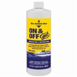 MaryKate® MK3532 Non-Flammable ON/OFF Water Based Hull/Bottom Cleaner, 1 qt Bottle, Almond Scent Odor/Scent, Blue, Liquid/Viscous Form