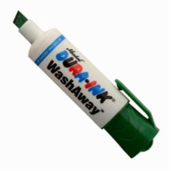 Markal® 096303 Dura-Ink® WashAway™ Temporary Ink Marker, 1/8 in, 5/16 in, Green