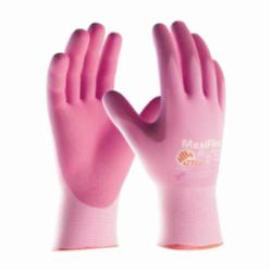 ATG® MaxiFlex® Active 34-8264 General Purpose Gloves, Coated, Microfoam Nitrile Palm, Nylon, Pink, Continuous Knit Wrist Cuff, Microfoam Nitrile Coating, Resists: Abrasion, Cut, Puncture and Tear, Lycra® Lining, Seamless Knit