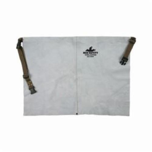 Memphis 38318MW Waist Apron, 18 in L x 24 in W, Split Cow Leather with Kevlar® Stitch, Gray
