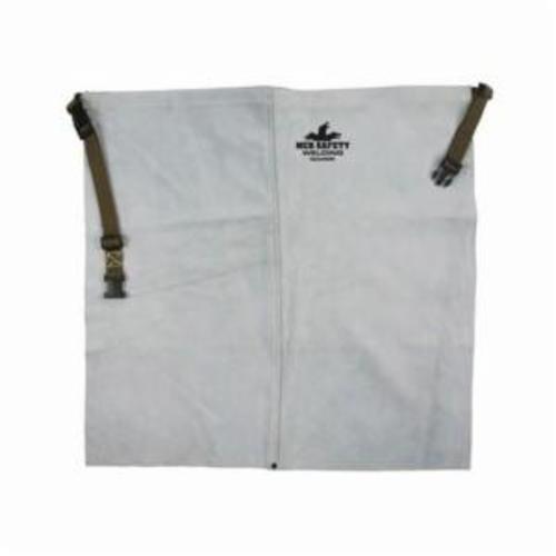 Memphis 38324MW Waist Apron, 24 in L x 24 in W, Split Cow Leather with Kevlar® Stitch, Gray