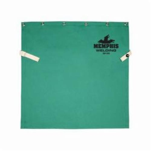 Memphis 39120 Bib With Snap, Green, Cotton, Button Snap Closure