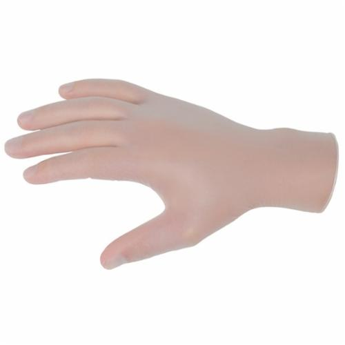 MCR Safety 5014 SensaGuard™ Non-Sterile Disposable Gloves, Vinyl, Clear, 10 in L, Powder Free, Smooth, 3 mil THK, Application Type: Food/Industrial/Economy Grade, Ambidextrous Hand