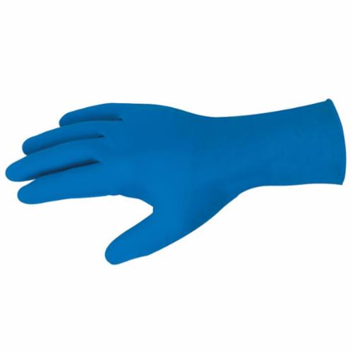 MCR Safety 5049 MedTech™ Nonterile Disposable Gloves, Latex, Blue, 11.339 in L, Powder Free, Textured Grip, 11 mil THK, Application Type: Medical Grade, Ambidextrous Hand