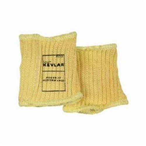 Memphis 9304 High Performance Plain Cut-Resistant Sleeve, 4 in L, Kevlar® Fiber, Yellow