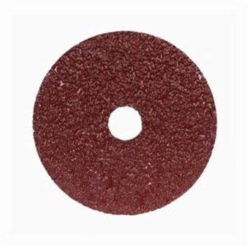 Merit® Metal® 05539510593 F226/F240 Coated Abrasive Disc, 4 in Dia, 5/8 in Center Hole, 50 Grit, Coarse Grade, Aluminum Oxide Abrasive, Center Mount Attachment