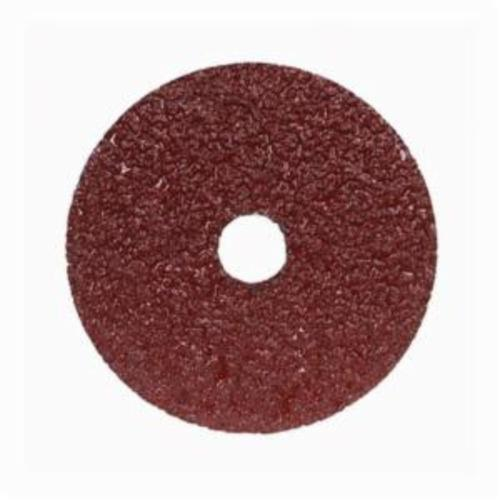Norton® Merit® Metal® 05539510594 F226/F240 Coated Abrasive Disc, 4 in Dia, 5/8 in Center Hole, 36 Grit, Extra Coarse Grade, Aluminum Oxide Abrasive, Center Mount Attachment