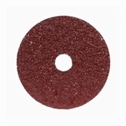 Norton® Merit® Metal® 05539510702 F226/F240 Coated Abrasive Disc, 9-1/8 in Dia, 7/8 in Center Hole, 24 Grit, Extra Coarse Grade, Aluminum Oxide Abrasive, Center Mount Attachment