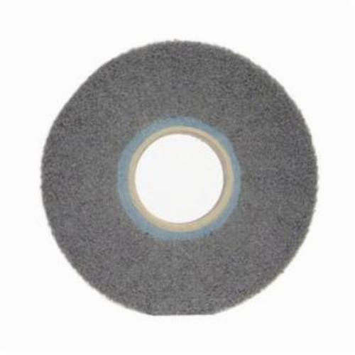 Norton® Merit® Bear-Tex® 05539512658 Non-Woven Flap Wheel, 6 in Dia, 1 in W Face, 240 Grit, Very Fine Grade, Silicon Carbide Abrasive