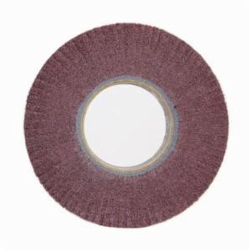 Merit® Bear-Tex® 05539562637 Non-Woven Flap Wheel, 12 in Dia, 2 in W Face, 120 Grit, Medium Grade, Aluminum Oxide Abrasive