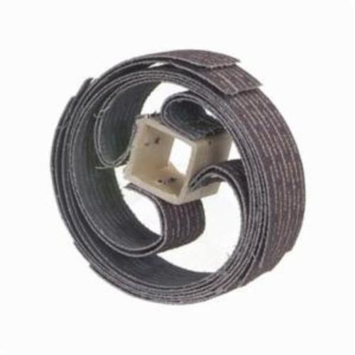 Merit® Sand-O-Flex™ 08834111054 Coated Resin Bond Refill, 6-1/2 in Dia, 1 in W Face, 120 Grit, Fine Grade, Aluminum Oxide Abrasive