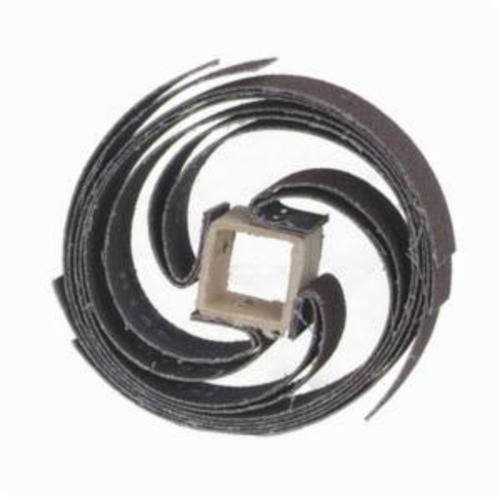 Merit® Sand-O-Flex™ 08834112053 Coated Glue Bond Refill, 6-1/2 in Dia, 1 in W Face, 60 Grit, Coarse Grade, Aluminum Oxide Abrasive