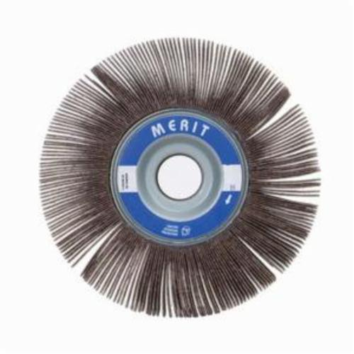 Merit® Grind-O-Flex™ 08834120043 XX-161 High Performance Unmounted Coated Flap Wheel, 16 in Dia, 1 in W Face, P80 Grit, Medium Grade, Aluminum Oxide Abrasive
