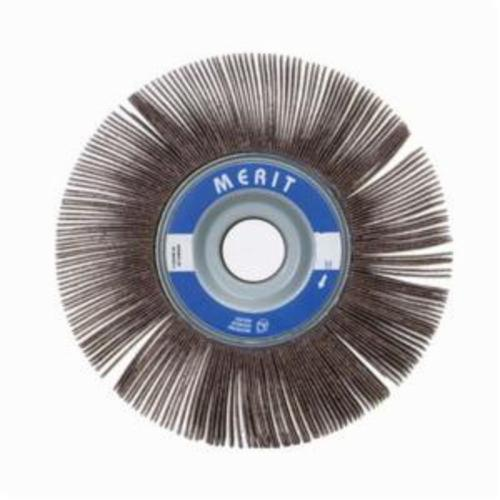 Merit® Grind-O-Flex™ 08834120069 XX-166 High Performance Unmounted Coated Flap Wheel, 16 in Dia, 6 in W Face, P120 Grit, Medium Grade, Aluminum Oxide Abrasive