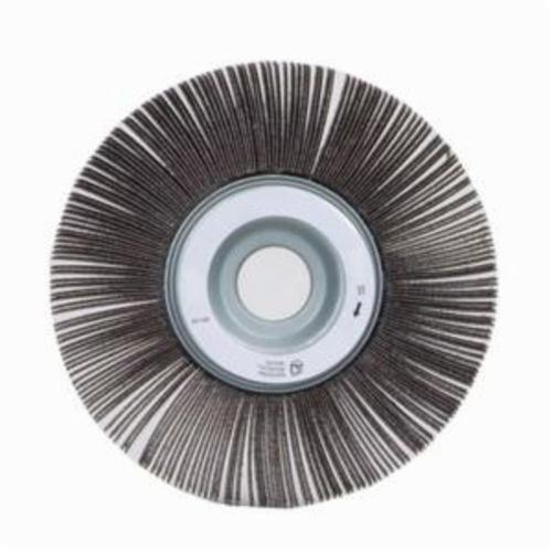 Norton® Merit® 08834120167 EC-061 Economy Unmounted Coated Flap Wheel, 6 in Dia, 1 in W Face, P40 Grit, Extra Coarse Grade, Aluminum Oxide Abrasive