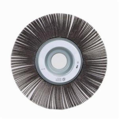 Norton® Merit® 08834120171 EC-061 Economy Unmounted Coated Flap Wheel, 6 in Dia, 1 in W Face, P100 Grit, Medium Grade, Aluminum Oxide Abrasive