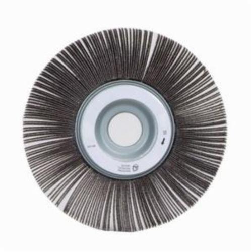 Norton® Merit® 08834120172 EC-061 Economy Unmounted Coated Flap Wheel, 6 in Dia, 1 in W Face, P120 Grit, Medium Grade, Aluminum Oxide Abrasive