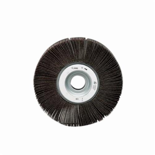 Norton® Merit® 08834120174 EC-061 Economy Unmounted Coated Flap Wheel, 6 in Dia, 1 in W Face, P180 Grit, Fine Grade, Aluminum Oxide Abrasive