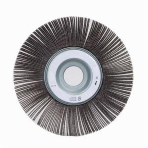 Norton® Merit® 08834120176 EC-061 Economy Unmounted Coated Flap Wheel, 6 in Dia, 1 in W Face, P240 Grit, Very Fine Grade, Aluminum Oxide Abrasive