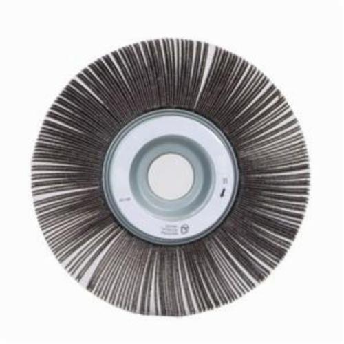 Norton® Merit® 08834120192 EC-062 Economy Unmounted Coated Flap Wheel, 6 in Dia, 2 in W Face, P80 Grit, Medium Grade, Aluminum Oxide Abrasive